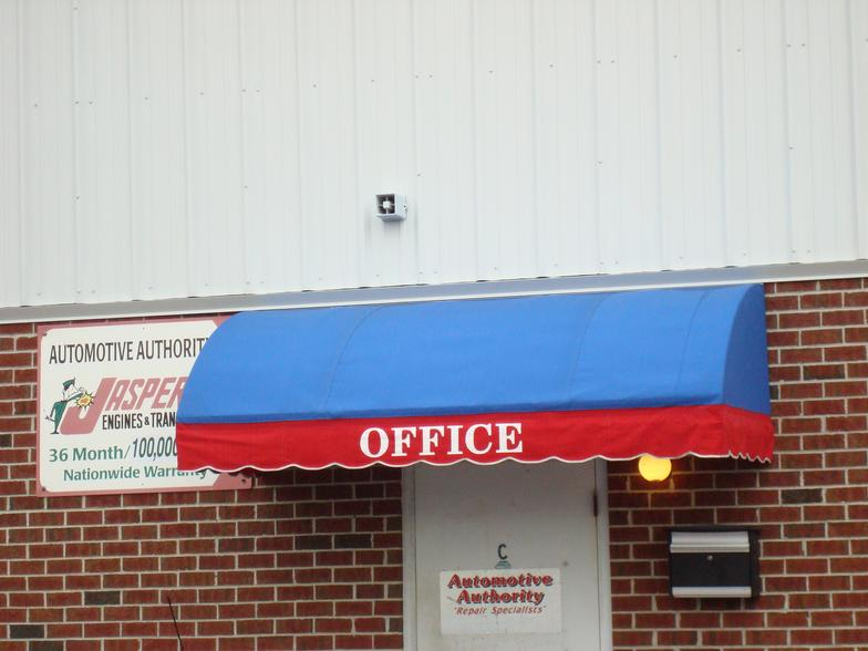 Commercial Door Awning