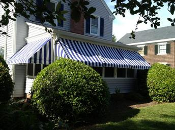 pull up awnings Ocean Front